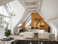 几张明亮的家庭室内装修效果图