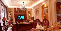 欧式古典室内装修样板房欣赏