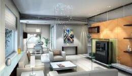 现代风格家庭室内装修效果图样板房分享