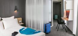简约精致的巴黎Okko酒店宾馆室内装修设计效果图