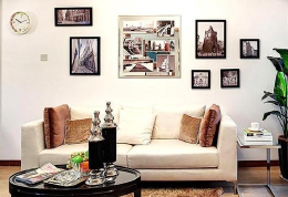 如何选择客厅装饰画 改善家庭氛围