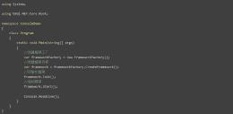 基于 OSGi 规范的 C#开发基础框架 OSGi.NET