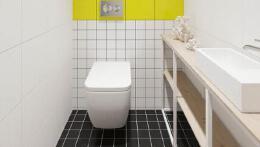 看起来十分舒服的卫生间装修设计