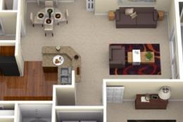 十几张非常有参考价值的室内装修效果图