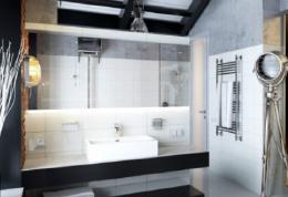 如果你喜欢简约风格,那么这款卫生间装修肯定适合你