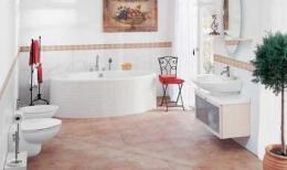 豪华大气的家庭卫生间装修案例欣赏