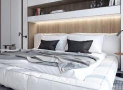 简约时尚的卧室装修设计案例欣赏