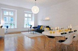 北欧风格的国外小户型装修设计效果图欣赏