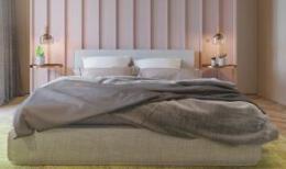 优雅美丽的主卧室装修效果图案例欣赏