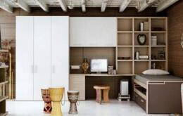 2款不同主题的青少年主卧室装修效果图设计