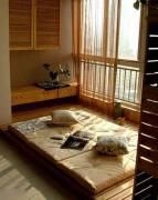 日式风格窗台榻榻米效果图装修欣赏