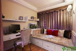 适合做公主房的榻榻米风格设计欣赏