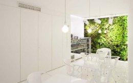10个超酷的室内垂直花园设计