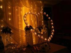 时尚、浪漫、高雅的烛光婚礼策划方案分享