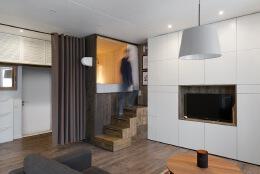 节省空间的阁楼床:3个小户型装修设计