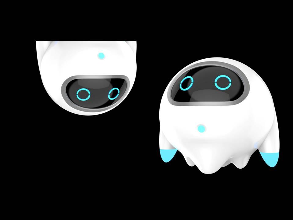 科技魷魚吉祥物設計