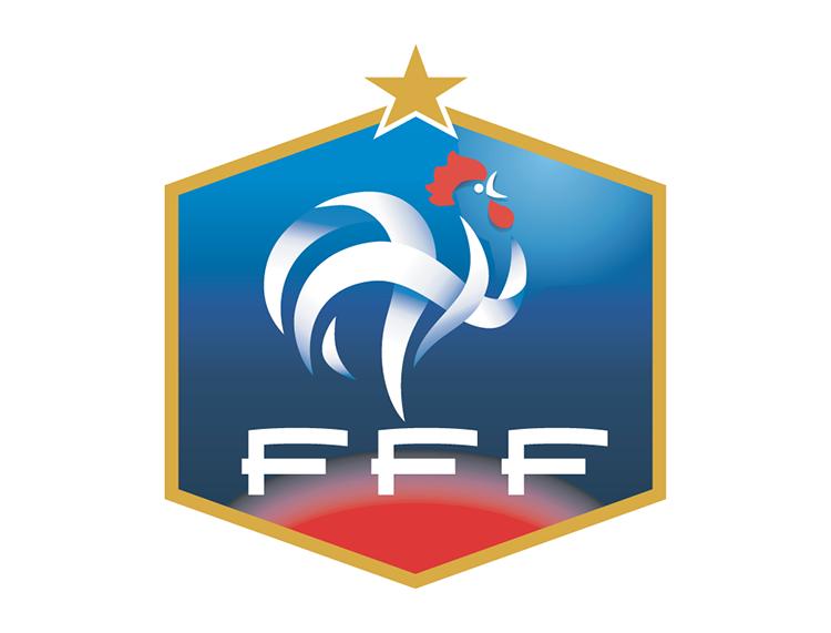 法国国家足球队队徽标志矢量图欣赏