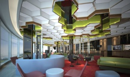 高大上的酒店大堂效果图设计欣赏