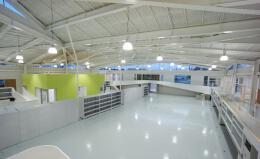 现代科技公司厂房设计内部效果图