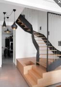 现代旋转楼梯设计效果图欣赏