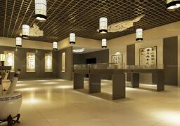 2018中式书画展厅设计欣赏