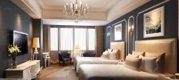 豪华宾馆标准间平面图设计分享