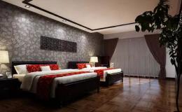 十分优秀的宾馆标准间平面图设计