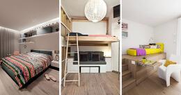 14个个性化的青少年房间设计实景图设计