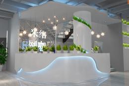 米络网咖现代感十足的吧台设计欣赏