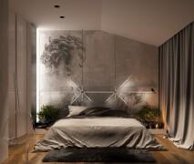 简洁舒适的房间设计实景图设计欣赏