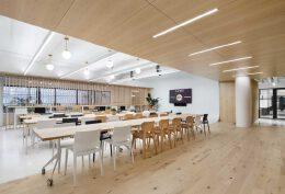 简约风格的蒙特利尔办公室设计
