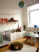 可爱的儿童房间设计实景图设计欣赏