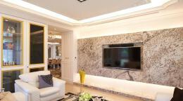 适合家庭的影视墙装修设计欣赏
