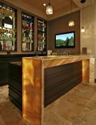 简单富有特色的家庭吧台设计图欣赏