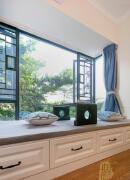 一张漂亮的榻榻米窗户图片欣赏