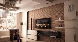 新房装修影视墙设计欣赏分享