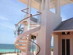 创意精美的旋转楼梯平面图设计欣赏