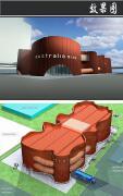 高大上的展览馆效果图装修设计欣赏