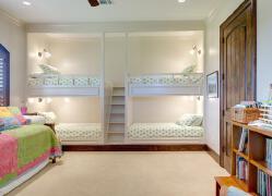 十分精致,看起来很舒服的寝室装修设计欣赏