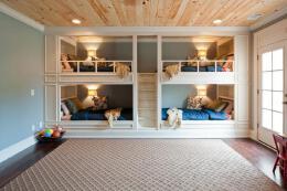 简约风格的柜子式的寝室设计效果图欣赏