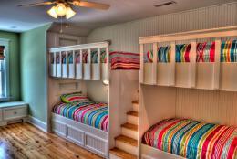 国外大学生4人寝室设计效果图欣赏