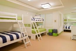 大学6人间寝室设计欣赏