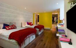 田园风格的寝室装修风格设计图片欣赏