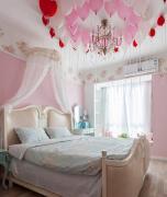 公主房小仙女喜欢的婚房装修设计图片欣赏
