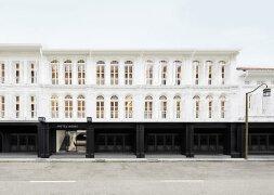 黑白极简主题的Hotel Mono汽车旅馆酒店设计