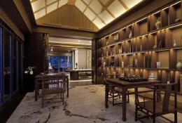 混搭中式茶馆装修设计图片案例欣赏