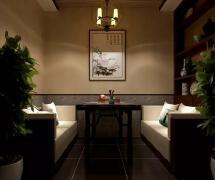 高档茶馆装修设计图片欣赏