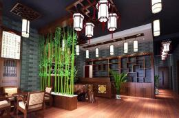 古香古色的酒楼设计装修图片欣赏