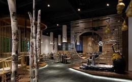 十分大气的茶馆装修设计图片案例欣赏