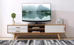 简单舒适理想家庭电视柜设计图片欣赏